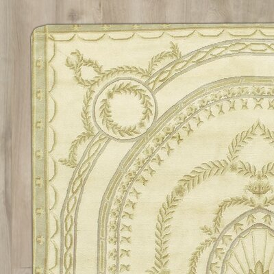 Christina Hand-Knotted Beige Area Rug