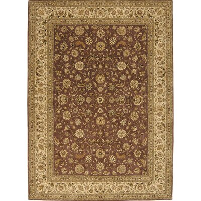 Gallo Hand-Knotted Beige/Red Area Rug