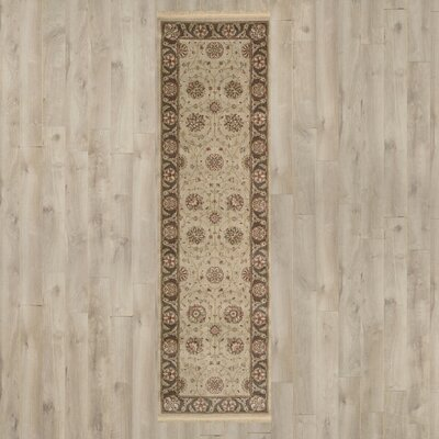 Gambrinus Machine Woven Brown/Beige Area Rug