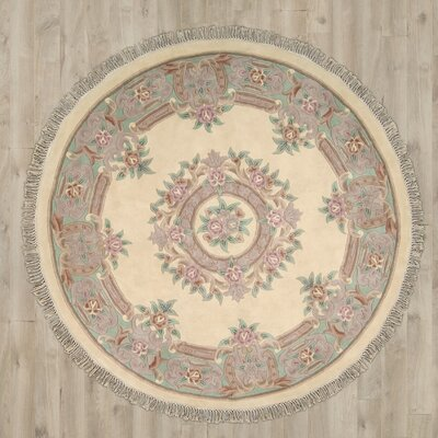 Cindy Hand-Tufted Beige Area Rug