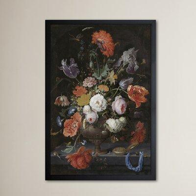 'Flower Arrangement XI' Framed Painting Print Size: 24