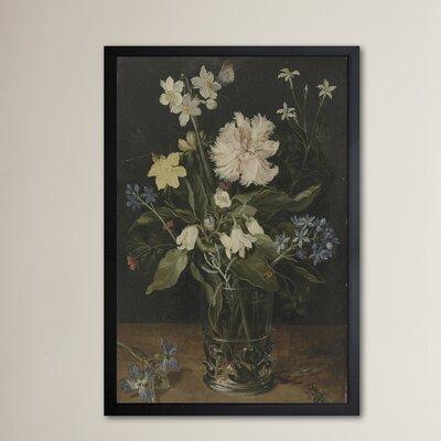 'Flower Arrangement VI' Framed Painting Print