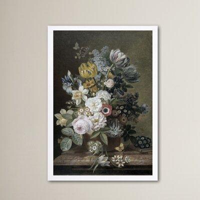 'Flower Arrangement III' Framed Painting Print Size: 24