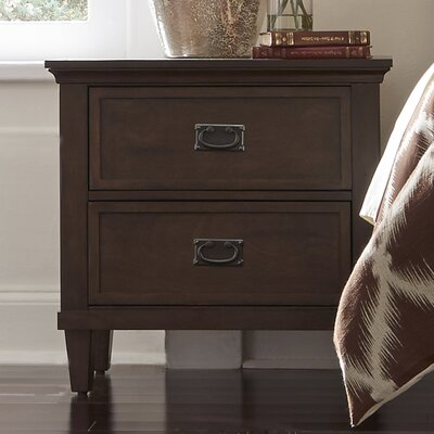 Abe 2 Drawer Nightstand