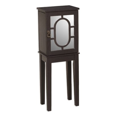 Brianne Jewelry Armoire with Mirror