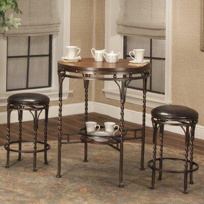 Dunloy 3 Piece Pub Table Set