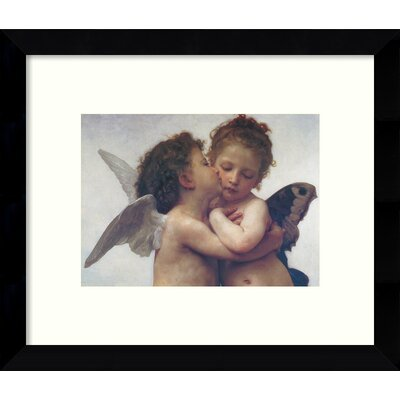 The First Kiss Framed Painting Print