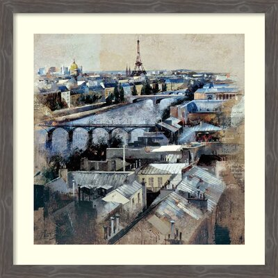 Paris Framed Painting Print