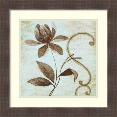 Floral Souvenir 2 Framed Graphic Art
