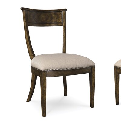 Tarragon Genuine Leather Upholstered Dining Chair