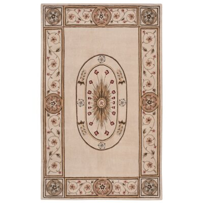 Conley Hand-Tufted Beige Area Rug