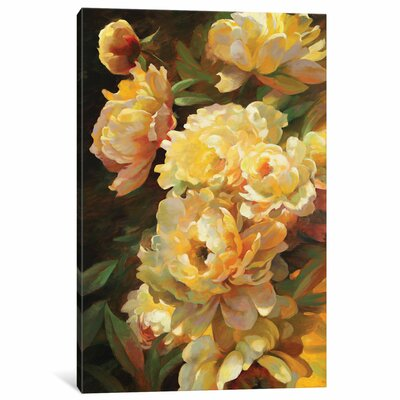 Peonies For Springtime Original Painting on Wrapped Canvas