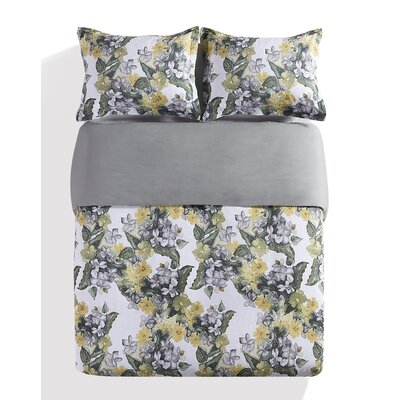 Seine 3 Piece Duvet Cover Set Size: Queen