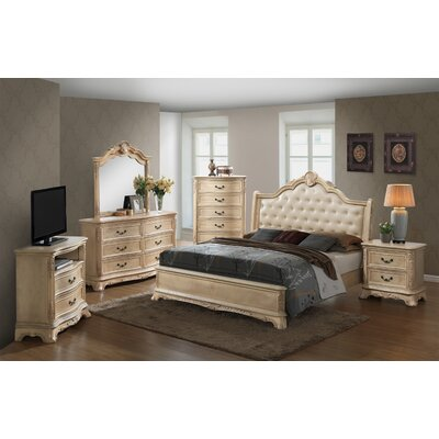 Longstaff Sleigh Configurable Bedroom Set