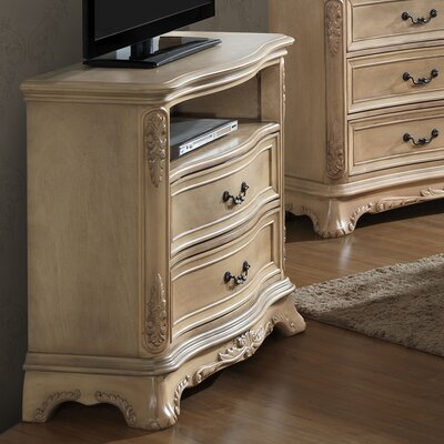 Longstaff 5 Drawer Media Chest Color: Bisque