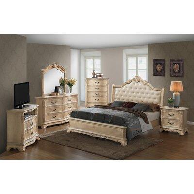 Longstaff Sleigh Customizable Bedroom Set