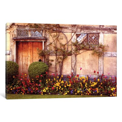 Shakespeare's House Photographic Print on Wrapped Canvas