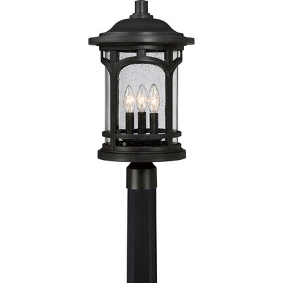 Amory 3-Light Post Light