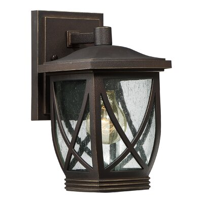 Baylor 1-Light Outdoor Wall Lantern