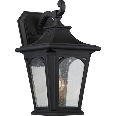 Baylor 1-Light Outdoor Wall Lantern Size: 15.5