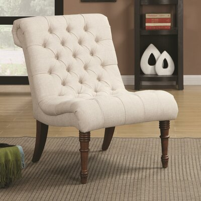 Bottrell Tufted Side Chair Upholstery: Oatmeal