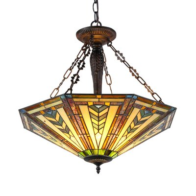 Albert 3 Light Inverted Pendant