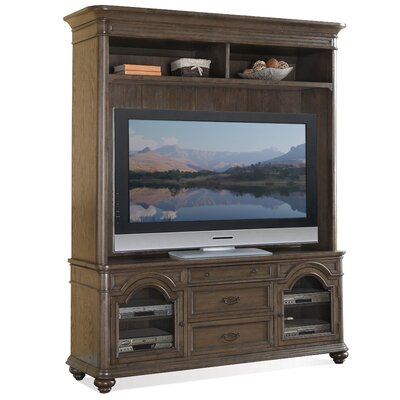 Beckles Entertainment Center with Hutch