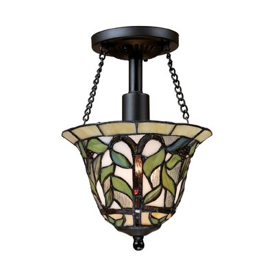 Wadsworth 1 Light Semi-Flush Mount