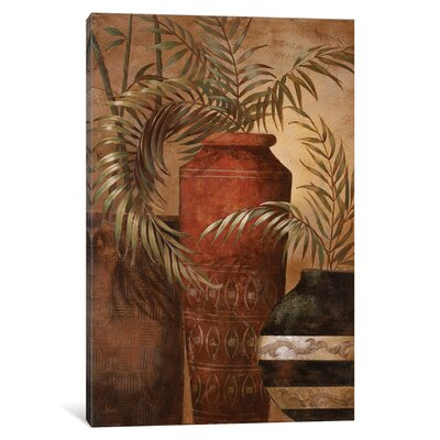 Exotic Vacation I Painting Print on Wrapped Canvas