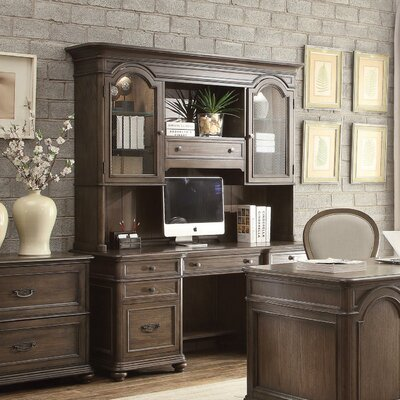 Beckles Executive Desk with Hutch