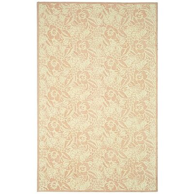 Trumbull Hand-Tufted Blossom Area Rug Rug Size: 56 x 86
