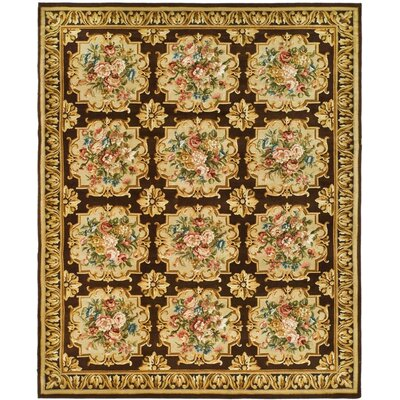 Bartlett Brown/Beige Area Rug Rug Size: 10 x 14