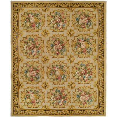 Schaefer Tan Area Rug Rug Size: Rectangle 10 x 14