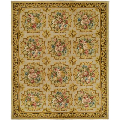 Schaefer Tan Area Rug Rug Size: 9 x 12