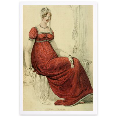 Half Dress II Framed Painting Print