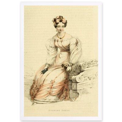 'Evening Dress X' Framed Painting Print