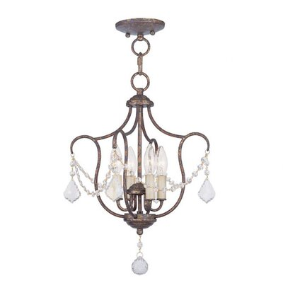 Bayfront 4-Light Foyer Pendant Color: Venetian Golden Bronze