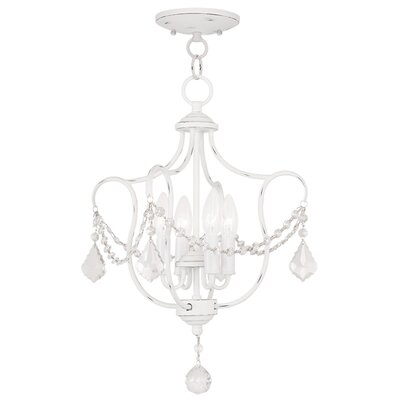Bayfront 4-Light Foyer Pendant Color: Antique White