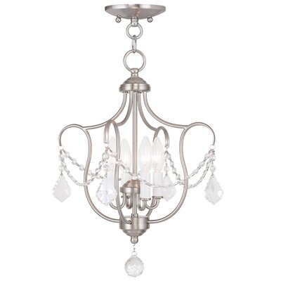 Bayfront 4-Light Foyer Pendant Color: Brushed Nickel