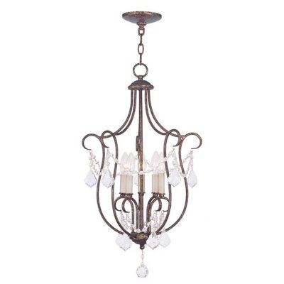 Bayfront 5-Light Foyer Pendant Finish: Venetian Golden Bronze