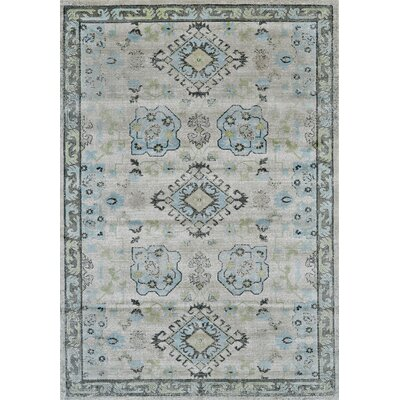 Reimer Birch/Sterling Area Rug Rug Size: Runner 21 x 71