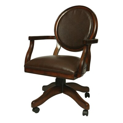 Wynter Genuine Leather Upholstered Dining Chair