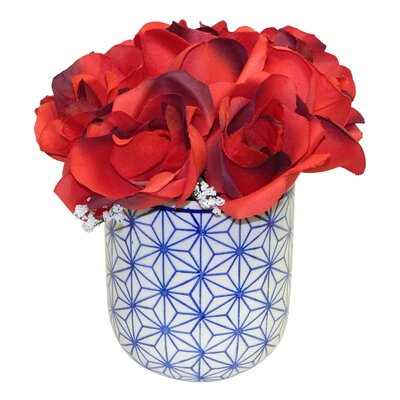 Roses in Dolly Pot