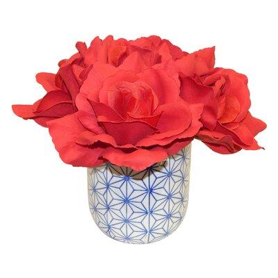 Roses in Dolly Pot