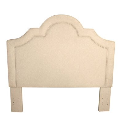 Dundermot Upholstered Panel Headboard Color: Wheat
