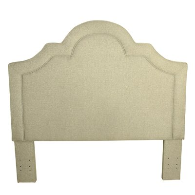 Dhavale Upholstered Panel Headboard Color: Soft Mist
