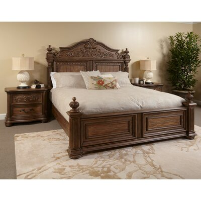 Alderwood Platform Bed Size: King