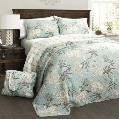 Myers 4 Piece Quilt Set Size: King