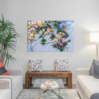 Inspiration (A Homage to Claude Monet) Painting Print on Wrapped Canvas