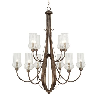 Homerton 10 Light Candle-Style Chandelier